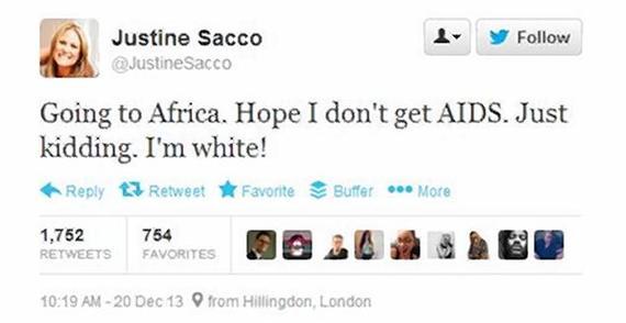 downfall of Justine Sacco
